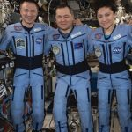 International Space Station Crew Members Return to Earth