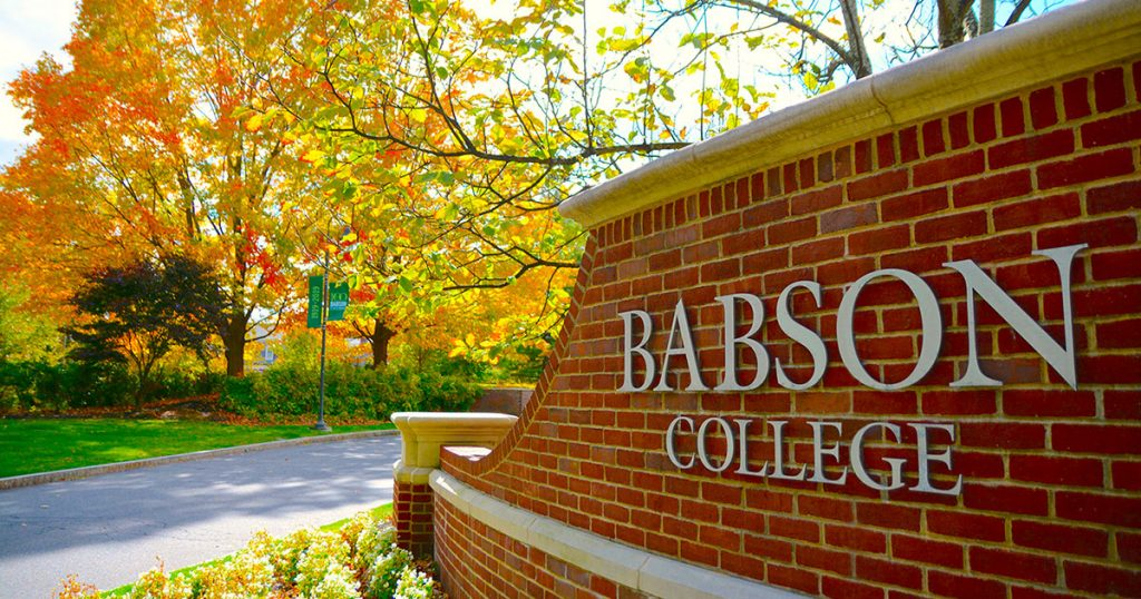 Babson College Best American Universities for international students