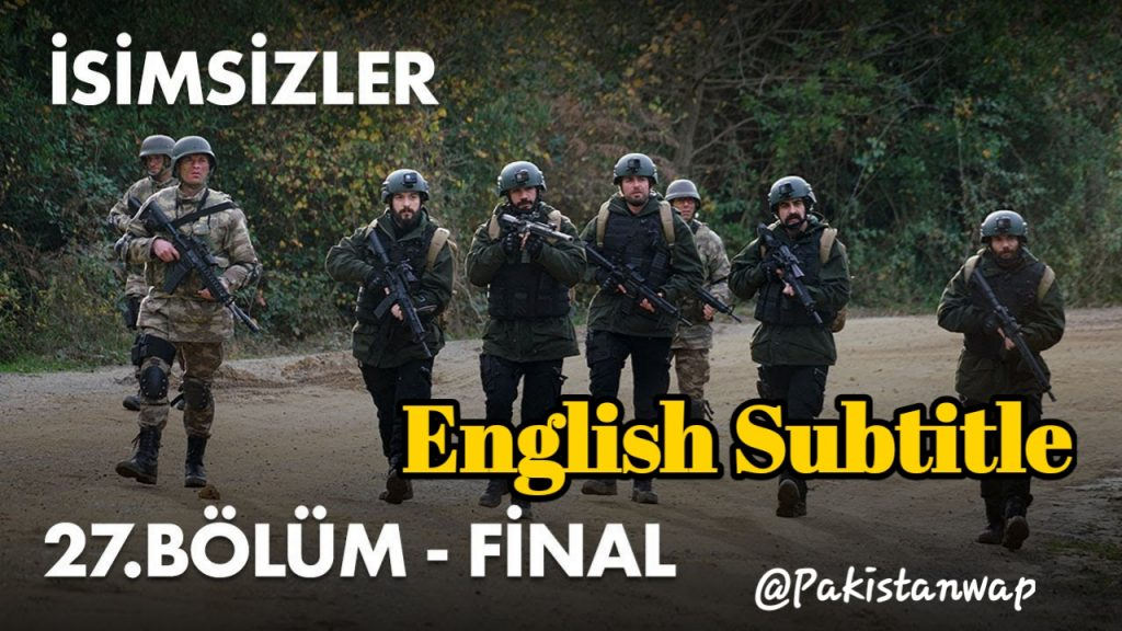( Nameless ) Isimsizler EPISODE 27 English Subtitle HD ( Nameless | Isimsizler Season 2 )