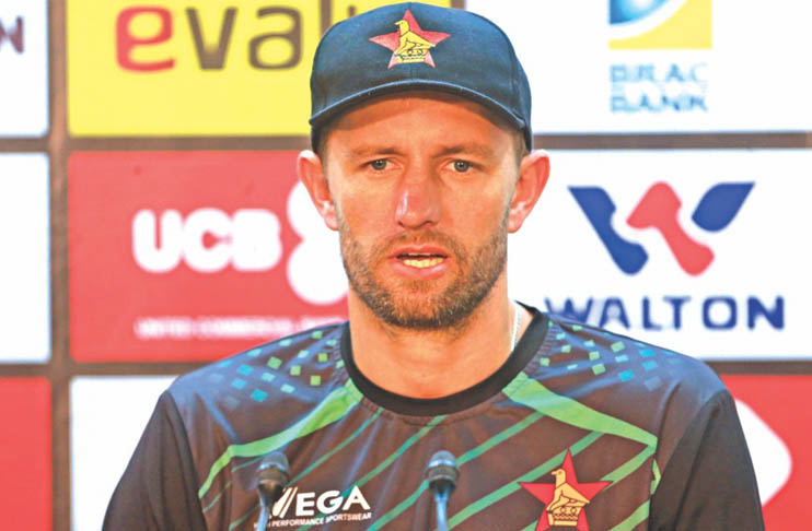 Zimbabwe's suffers injury ahead of second T20I |against Pakistan|