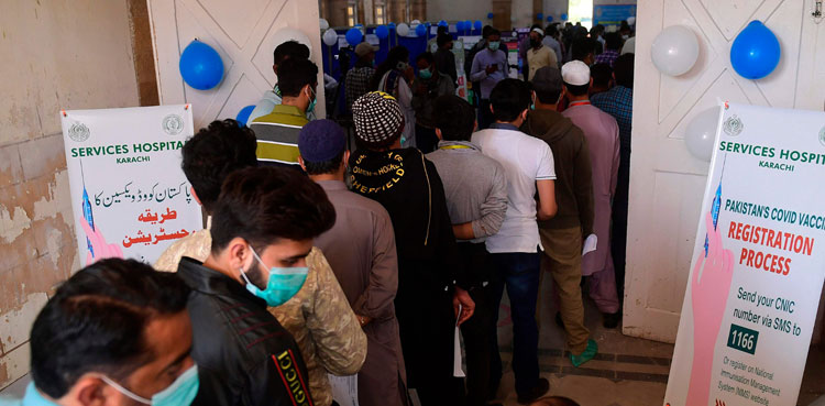 Vaccination centre across country will remain open after Iftar