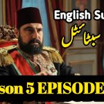 Payitaht Abdulhamid Episode 147 English and Urdu Subtitles Free of Cost