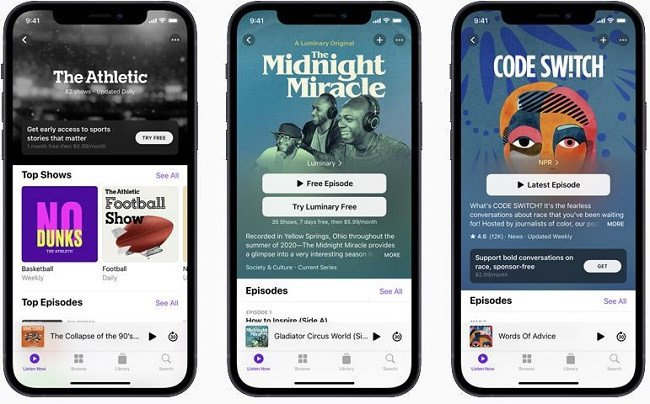 Apple to delay launch of podcast subscription service