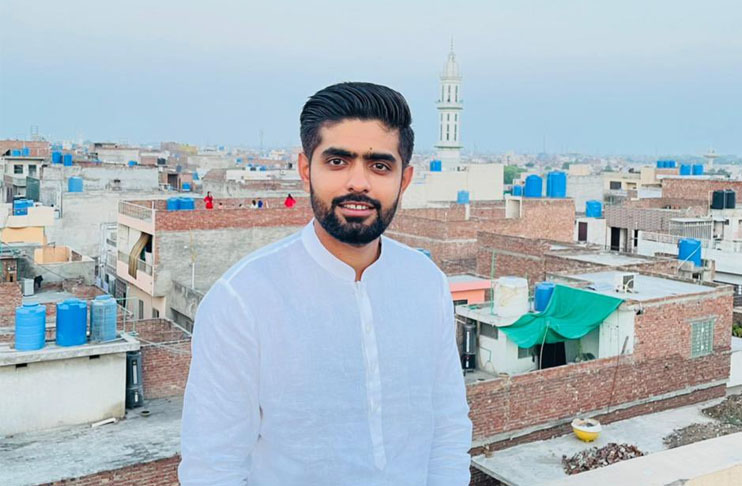 Babar Azam shows glimpse of his old house 'Never forget where you came from'
