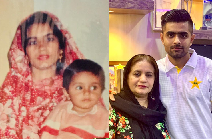 Babar Azam pens heartfelt note for his 'Mama Ji' on Mothers Day