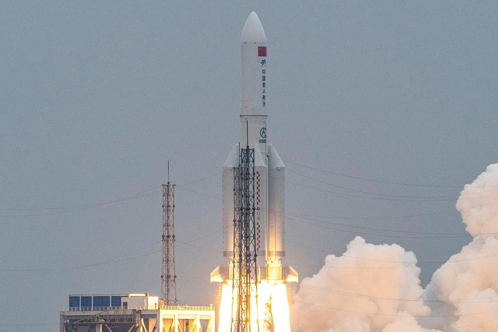 Chinese space China's rocket that fell was the third instance of Chinese space junk crashing in recent years