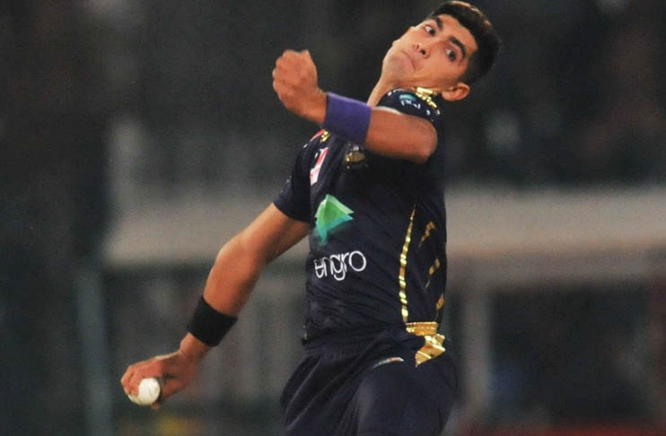 Naseem ruled out of remaining PSL 6