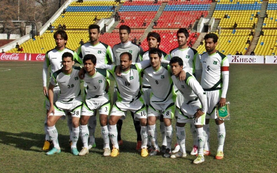Palestine to play against Pakistan a friendly football game at Lahore