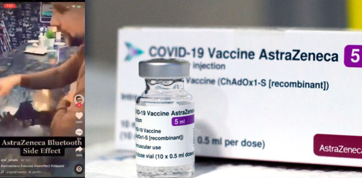 AstraZeneca's COVID-19 vaccine does NOT contain a Bluetooth chip