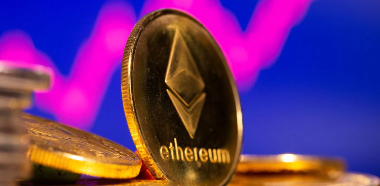 Ethereum rises 5% at $2,509; bitcoin firm