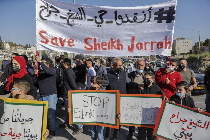 Israel is so desperate to silence #SaveSheikhJarrah