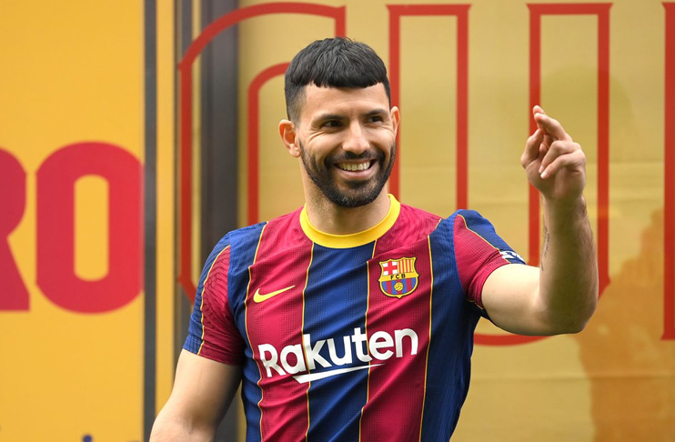 Barcelona confirm Aguero signing from Man City