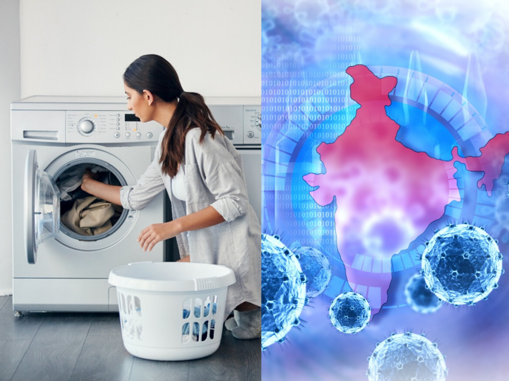 Mistakes made while washing clothes can lead to serious infections