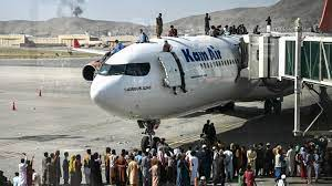 kabul airport attack in afghanistan
